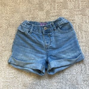 Two Little Girls Shorts Size 4T